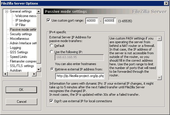 Set up a FTP server in Windows Azure Virtual Machine with